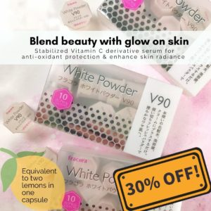 Japanese skincare products photo flatlay images with pink background