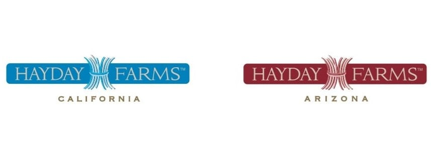 Hayday-farms-logo design